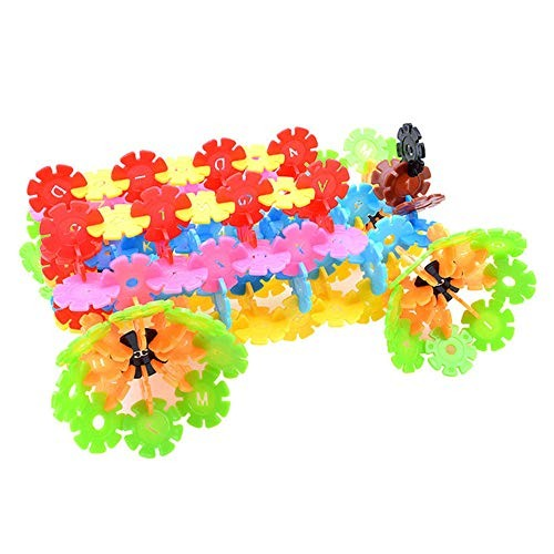 WUSHIYU Wooden Building Blocks Set 1200 Pieces DIY Educational Toy Snowflake Dry for Kids Classic Build & Play ToyPremium B