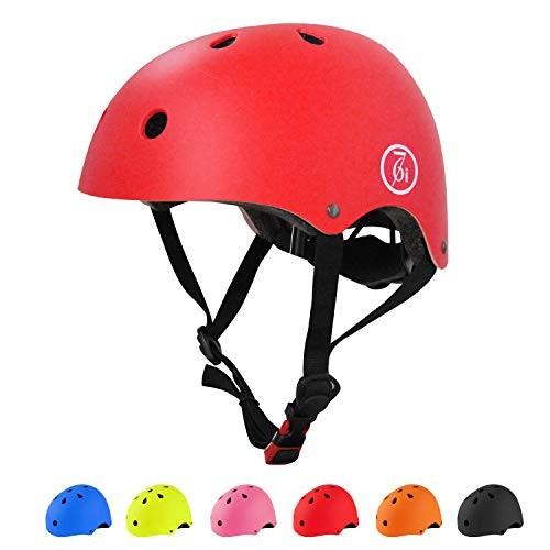 67i Skateboard Helmet Adult Bike Helmet CPSC Certified Adjustable and Protection for Skating Helmet