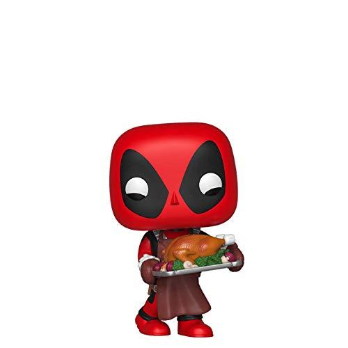 Funko Pop Marvel Holiday – Deadpool with Turkey