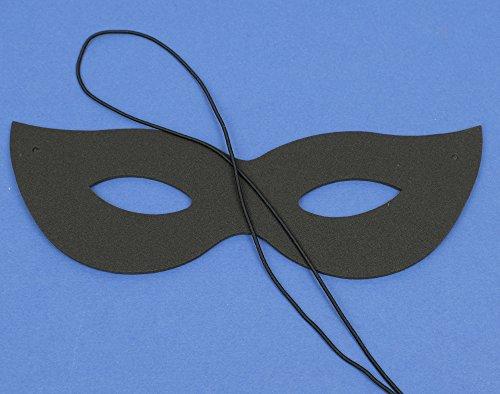 Single Black Foam Carnival Mask for Kids Crafts Masks to Decorate