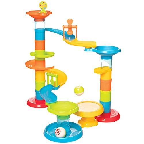 Manhattan Toy Stack Drop & Pop Preschool Activity