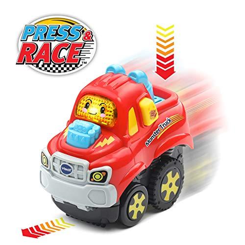 VTech Go Smart Wheels Press and Race Monster Truck
