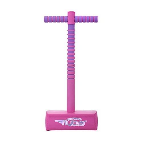 Flybar My First Foam Jump and Squeak Pogo Stick- Safe Pogo Stick for Kids