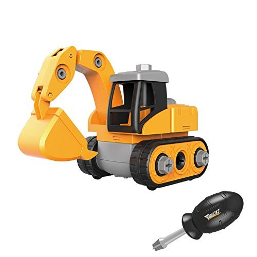 Little Bado Take Part Big Construction Dump Truck Car Toys Vehicle Set Excavator Toys