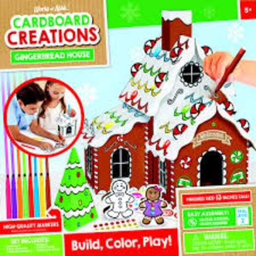 MasterPieces Holiday Cardboard Creations – Gingerbread House