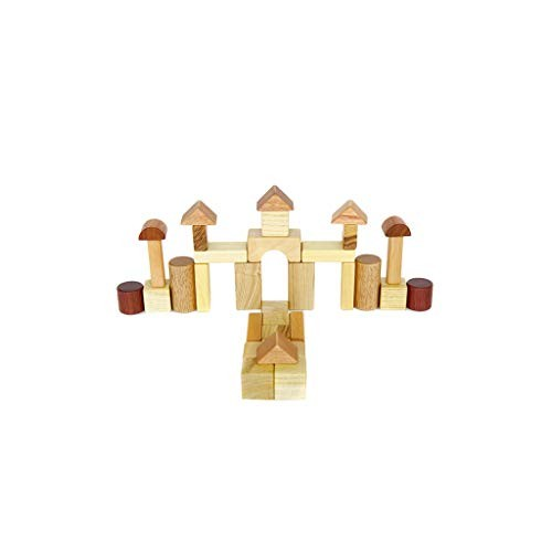 Lxrzls Large Wooden Building Blocks-Kids Toys-Wooden Stacking Games -Stacking Toys