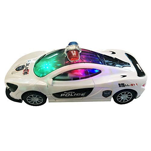 LilPals' Live Action Police Super Car – Featuring Amazing Movements Lights & Sounds
