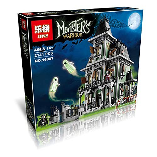 Big Movie Series Monster Warrior Haunted House Building Blocks Puzzle Children Assembled Toys