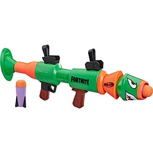 NERF Fortnite Rl Blaster — Fires Foam Rockets — Includes 2 Official Fortnite Rockets