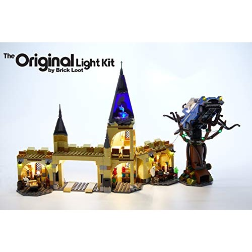Brick Loot LED Lighting Kit for Lego Harry Potter Hogwarts Whomping Willow – 75953 Lego Set NOT Included