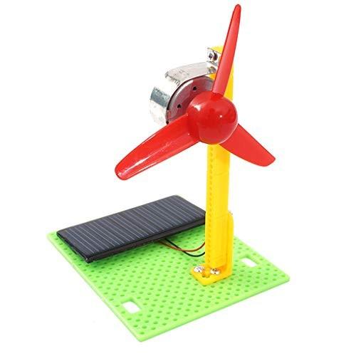 Little Story Full Dolls Clearance Solar Fan Model DIY Wooden Building Assembly Kids Toys