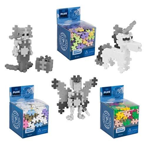 PLUS Set of 3 Mystery Makers Series 1 Bundle 2 Construction Building STEM STEAM Toy Interlocking Mini Puzzle Blocks for Kids