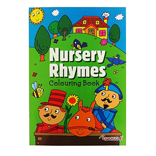 Martello Nursery Rhymes A4 Coloring Book Sing and Colour