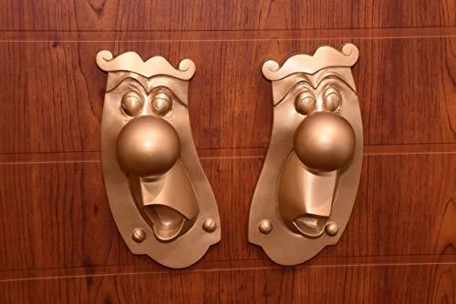 LaRetrotienda Alice in Wonderland Mr Doorknob to decorate the door knob room decoration decor Handmade