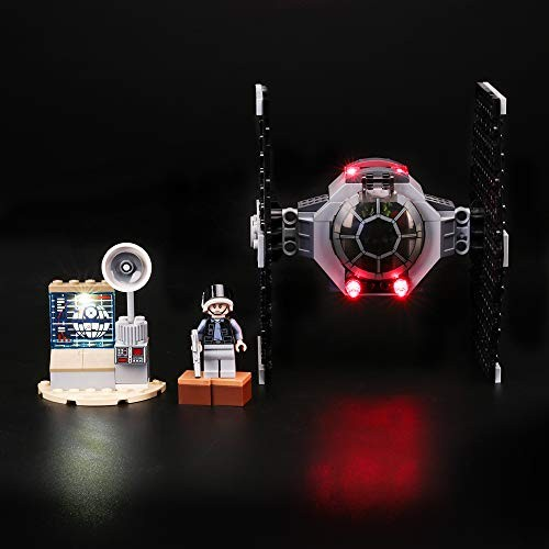 Led Lighting Kit for Star Wars TIE Fighter Attack – Compatible with Lego 75237 Building Blocks Model- Not Include The Set