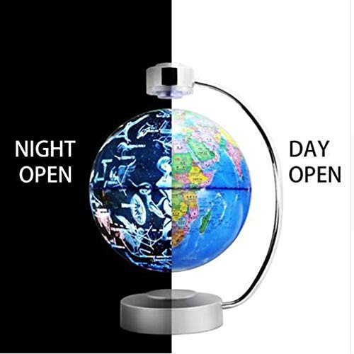 TFACR Magnetic Suspension Globe Constellation Ball Two Modes 360 Degree Automatic Rotation Home Office Decoration Creative Gifts