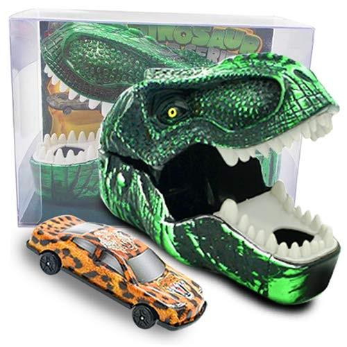 Innovative Car Launch Dinosaur Toys Set for Kids Toddlers Birthday Christmas Theme