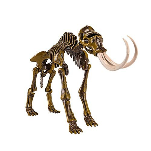 Volwco Dinosaur Fossils for Kid-Digging Fossil Excavation Kit and ModellingFossil Skeleton Toy Paleontology GiftMammoth