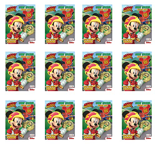 Disney Jumbo Mickey Mouse Roadster Racers Coloring Book 12 Spring Picnic