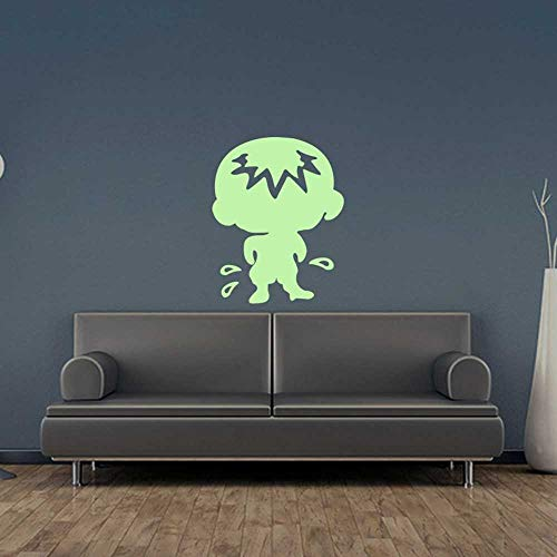 Riforla Peeing Kid Glow in The Dark Luminous Fluorescent Noctilucent Plastic Wall Stickers Murals Decals for Home Art Decor Ceiling Decorate Babys Bedroom Decorations Kids Gift