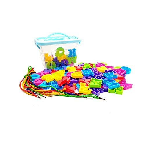 Toy Kids Wooden Building Blocks 75 Pcs Educational And Creative Toys For Intelligent Learning DIY Stick Block With Storage Box Ideal Education