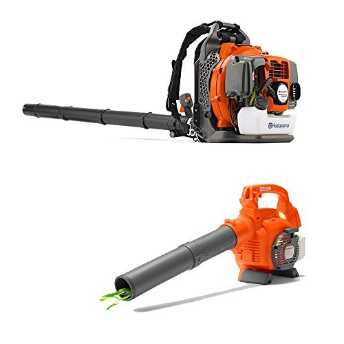 Husqvarna 350BT 50cc 2 Cycle Gas Backpack Blower and Kids Toy Lawn Leaf