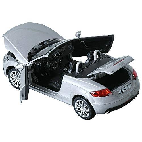 Cararama 1:24 Audi TT Silver Children Mini Car Toy