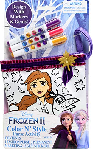 Frozen 2 Color N Style Small Purse
