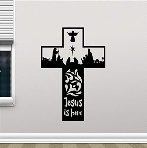 aizaixinli Vinyl Wall Sticker Church Stickers Decorate Children's Bedrooms Decorated Room DIY 58 x 84Cm