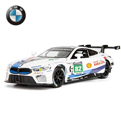 TGRCM-CZ Diecast Model Cars Toy Cars M8 GTE #82 1:32 Scale Alloy Pull Back