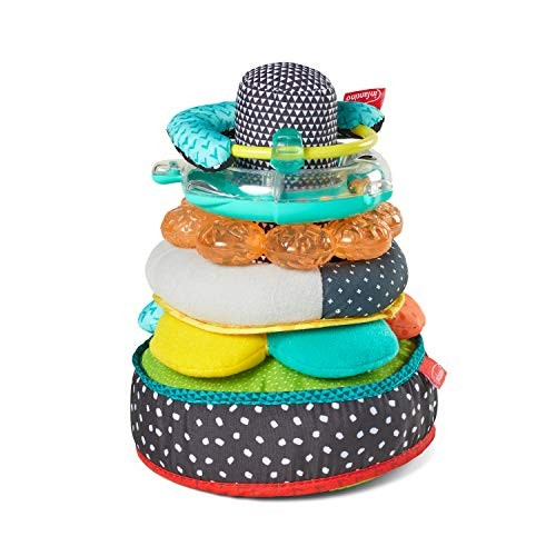 Infantino Textures & Sounds Activity Stacker Multi