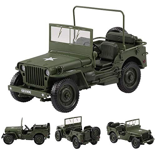Futureshine Jeep Model Toy Car 1:18 Willis Car Kids Toy Alloy Model Ornaments