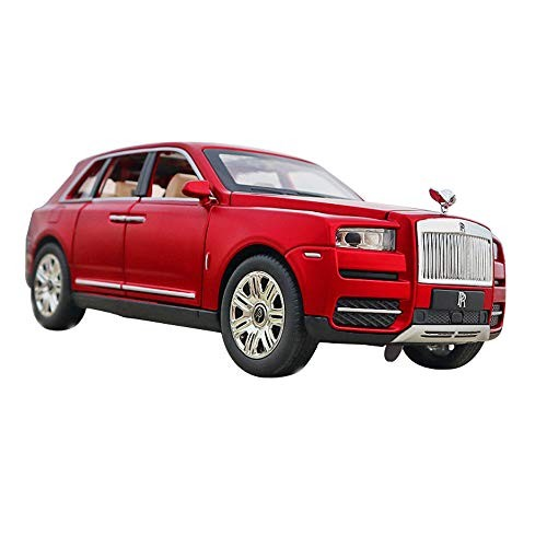 1:32 Rolls Royce Alloy Car Model Sound and Light Pull Back Toy Car 7