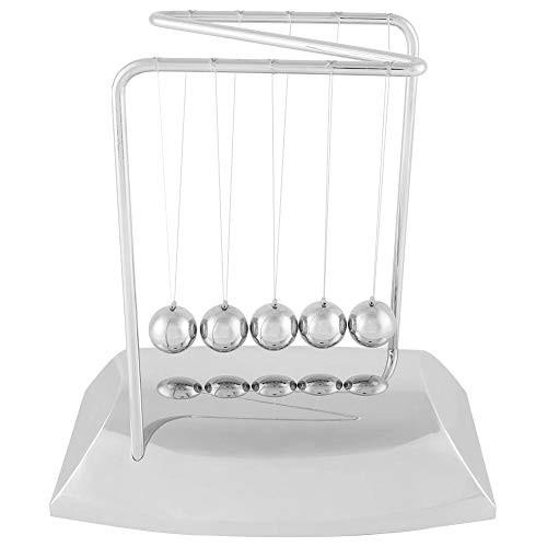 AUNMAS Classic Newton Pendulum Ball Z-Shaped Newton's Cradle Balance Steel Balls Physics Science Ornaments Toy Desk
