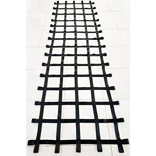 FONG 12 ft X 4 ft Climbing Cargo Net Black (144 inch x 48