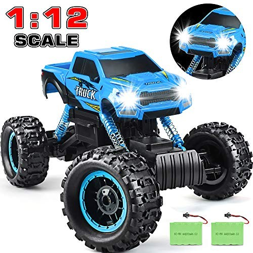 DOUBLE E RC Car 2020 Newest 1/12 Scale Remote Control Car 24Ghz Off Road