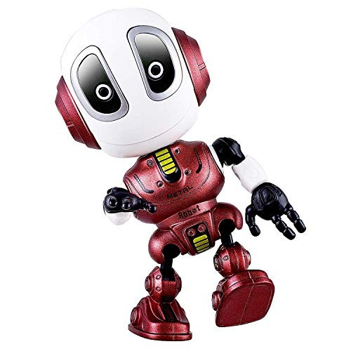 Mini Talking Robot with LED Eyes and Cute Vioce Touch Sensitive