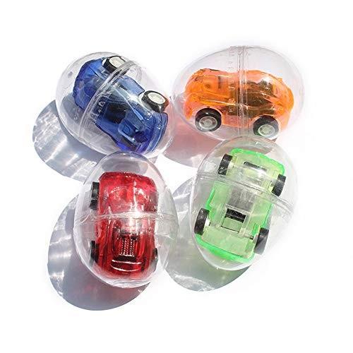 Deerbb 4 Set Mini Pull Back Car Egg Gift Small Toys for Children Kids