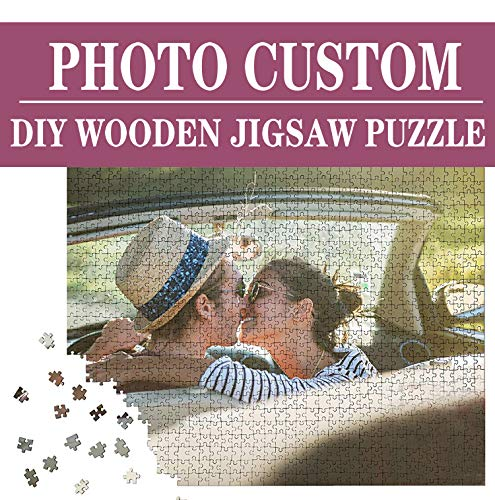 Custom Photo Puzzle 500 Piece for Adults Large PersonalizedCustom Wooden Jigsaw Personalized Family Wedding Photos 205 x 15 inches