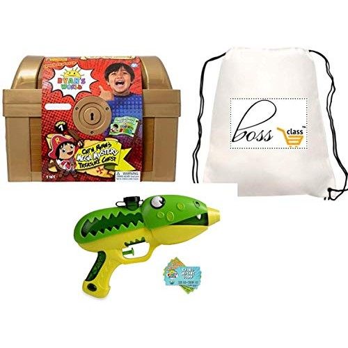 POG Kids Boys Ryan Ryan's World (Bonus POLOSIE Pen ) Slimy Blaster & Exclusive