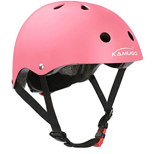 KAMUGO Kids HelmetToddler Helmet Adjustable CPSC Certified Ages 3-8 Years Old Multi- Sports Safety Cycling Skating Scooter and Other Extreme Activities