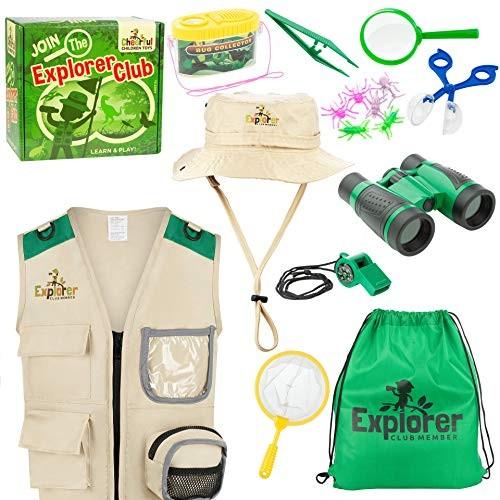 Kids Explorer Kit Bug Hunting Kit for Children – Including Exploration Costume – Safari