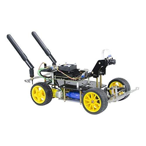 xiaoR Geek Donkey Car Starter Kit Open Source DIY Self Driving Platform for Small Scale Cars Jetson Nano AI Smart Robot Car Upgraded Version