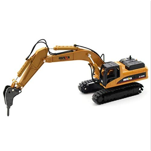 CZALBL Simulation Engineering Vehicle Building Alloy Demolition Machine Model Increasing Children's Hands-on Ability