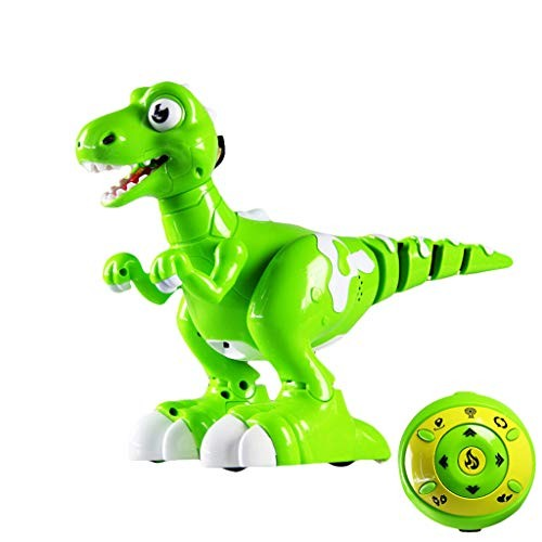 LiboboDancing and Music Inteliget Dollow RC Walking Spary Dinosaur Robot Toy Gift
