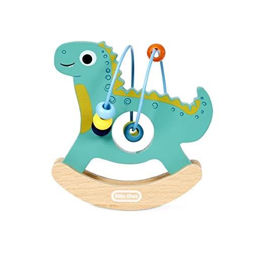 Little Tikes Wooden Critters Dino Busy Beads Maze Developmental Toy