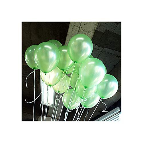 5Pcs Round Long Strip Shape Pearl Balloons Party Decorate Valentine'S Day Happy Birthday Wedding Decoration Kids BalloonA10 Lightgreen Round12G
