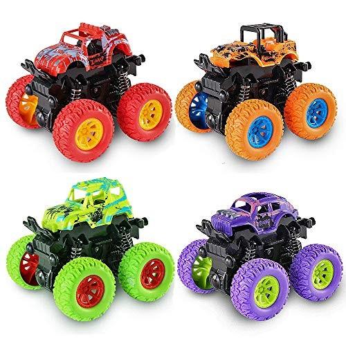 JK-Toys Best Gifts for 3-5 Year Old Boys Monster Trucks Toys Hot Wheels for