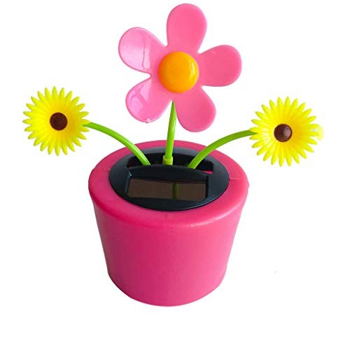 Ouniman Dancing Solar Toys 26 Styles Flower Cactus Powered Car Swinging Toy Windowsill Decoration Holiday Dashboard Office Home Desk Decor S