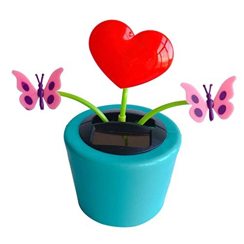 Ouniman Dancing Solar Toys 26 Styles Flower Cactus Powered Car Swinging Toy Windowsill Decoration Holiday Dashboard Office Home Desk Decor T